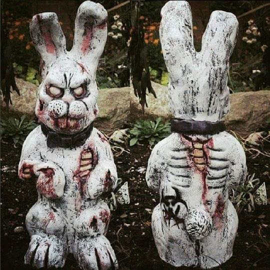 嚇爆!花園小矮人《陰屍路》版,肚破腸流連小偷都嚇到做惡夢| 園藝、小物、佈置、園藝小矮人、殭屍| 妞書房| 妞新聞niusnews