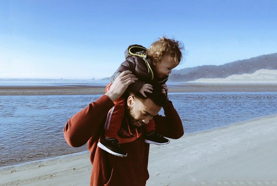 很多爸爸跟小孩玩的方式,在媽媽眼裡就像在「玩命」