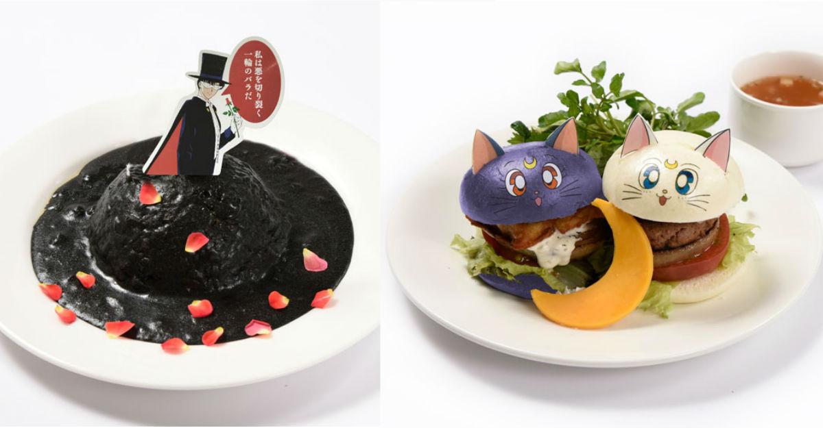 美战这次不只有甜点而已!「Sailor moon Cafe 」9月下旬开催