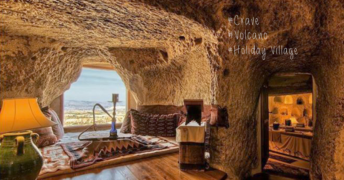 飄浮Villa算什麼!洞穴火山變身意想不到的度假建築 | 愛玩妞