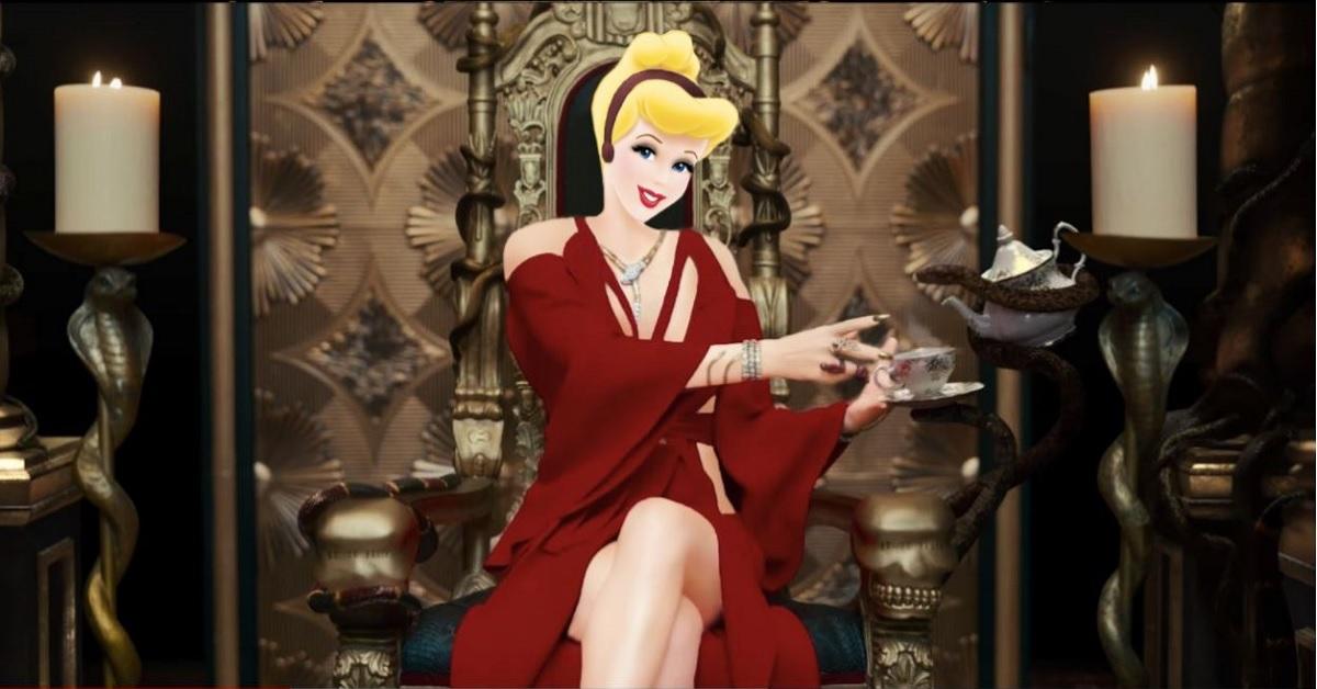 灰姑娘婚后要复出当歌手?艺术家完美PS迪士尼公主宛如置身MV场景
