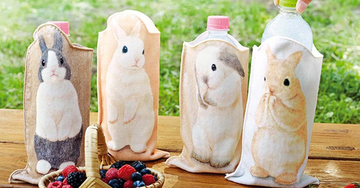 狗狗变拖把、兔兔变盒子?日本疗癒系动物创意商品可爱到想收集啊!