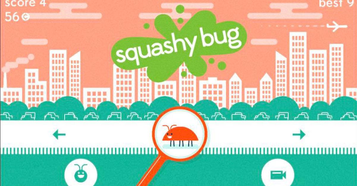 虫子的生存游戏!一不小心就会被人类踩扁的刺激手游《Squashy Bug》