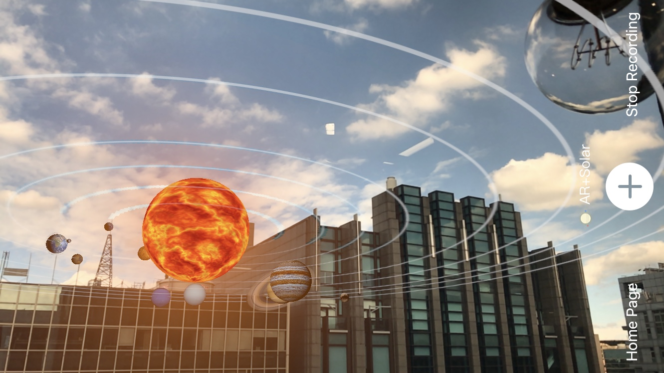 我把太阳系装在手机里了!《Ar+Solar》轻松拉近你与宇宙的距离