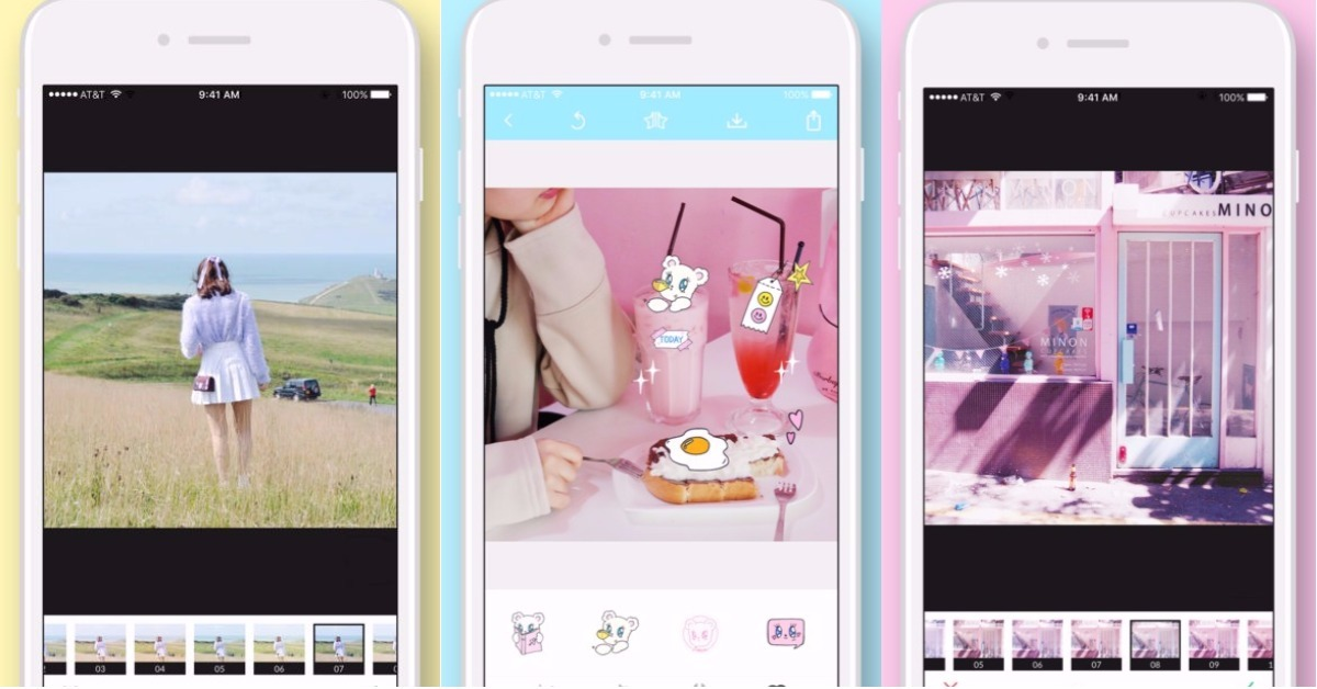 11/13限时免费App特辑:小清新、粉嫩感一次给你!萌感滤镜《BECA》系列限免中