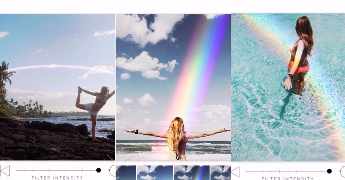 11/17限时免费App特辑:想要照片有彩虹不必再等!《Rainbow Love》限免中