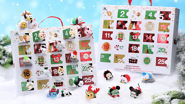 Tsum Tsum倒数圣诞日历好想败!「香港迪士尼乐园」圣诞周边×2018年度预告出炉