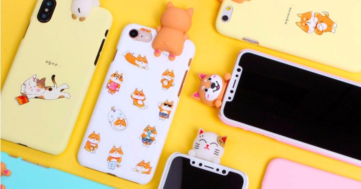 你的手机上有只柴在看着你!「探头微笑动物系列手机壳」特蒐
