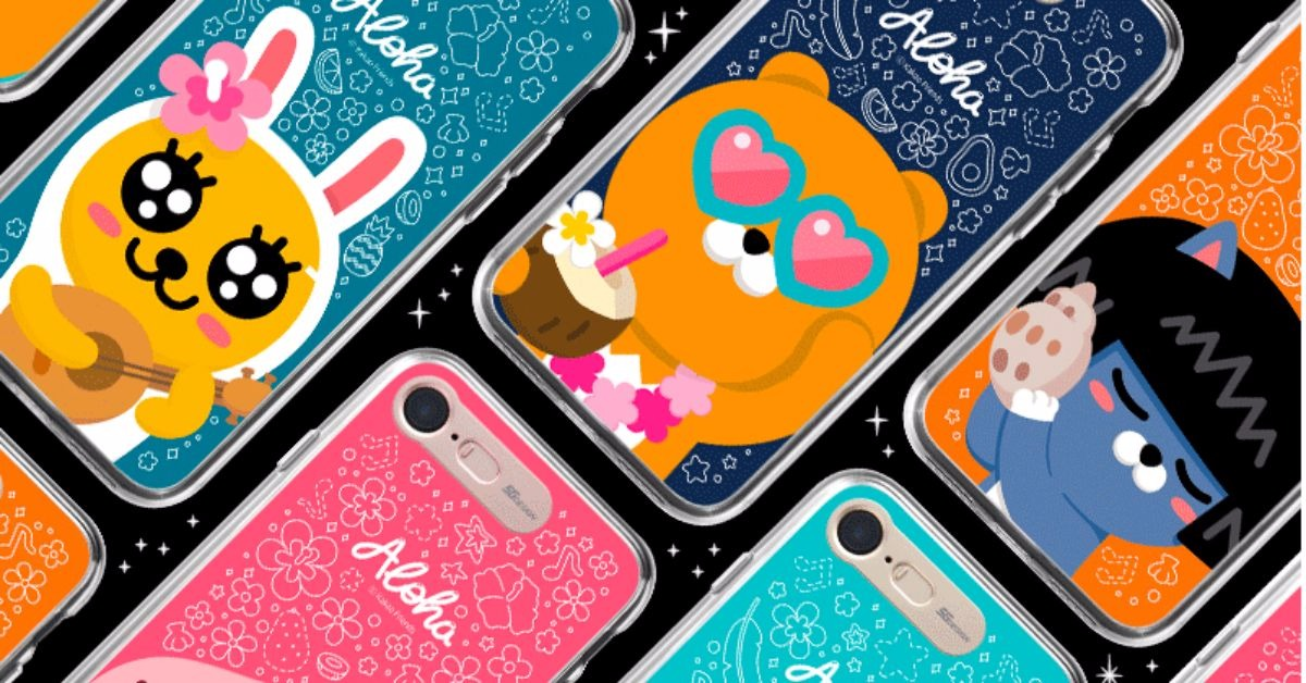 不想过冬就跟着莱恩去夏威夷度假吧!「KAKAO FRIENDS发光手机壳」特辑