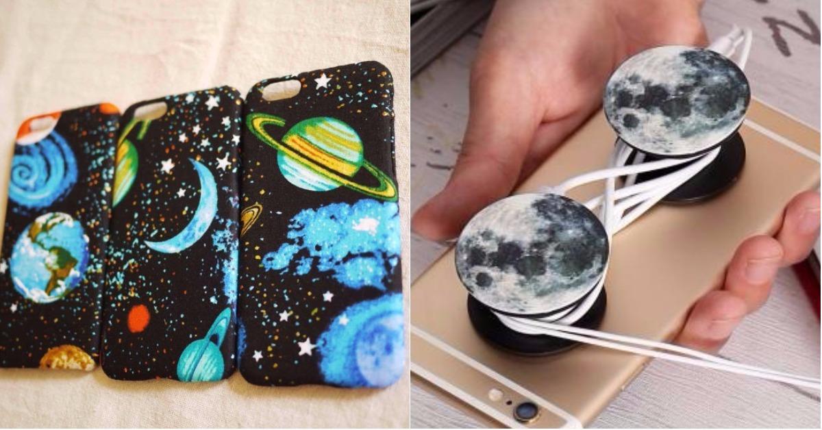 随身把银河带着走!给你满满星际感的「宇宙」手机週边特蒐