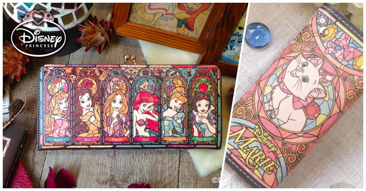 玛丽猫又要来抢大家荷包惹!迪士尼彩绘玻璃风设计美翻天