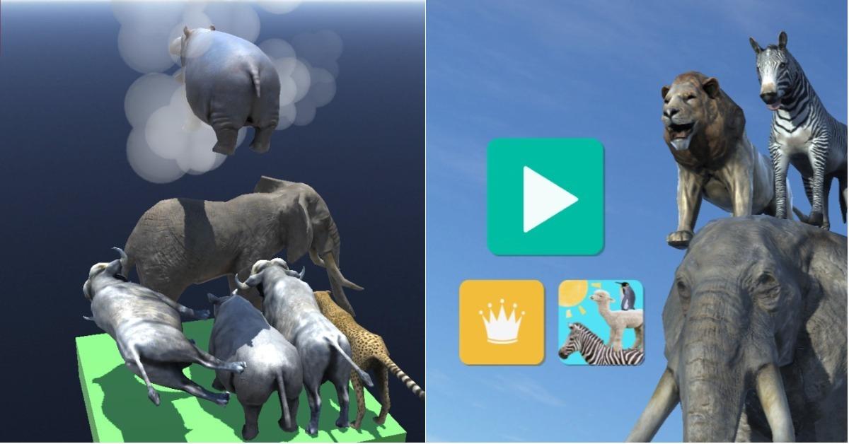 叠动物没有想像中的简单!立体叠叠乐《动物塔3D》考验你的空间概念