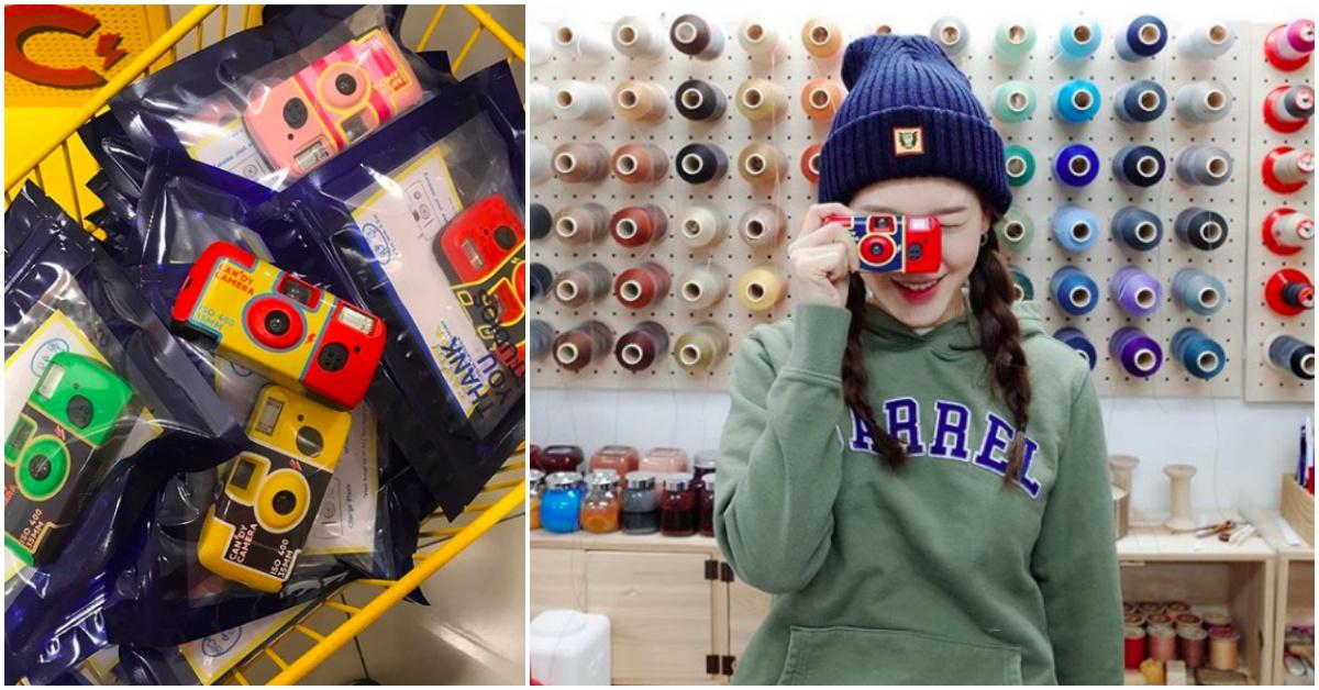 韩星人手一台「糖果机」狂洗版!史上最可爱的复古照制造机就是它!