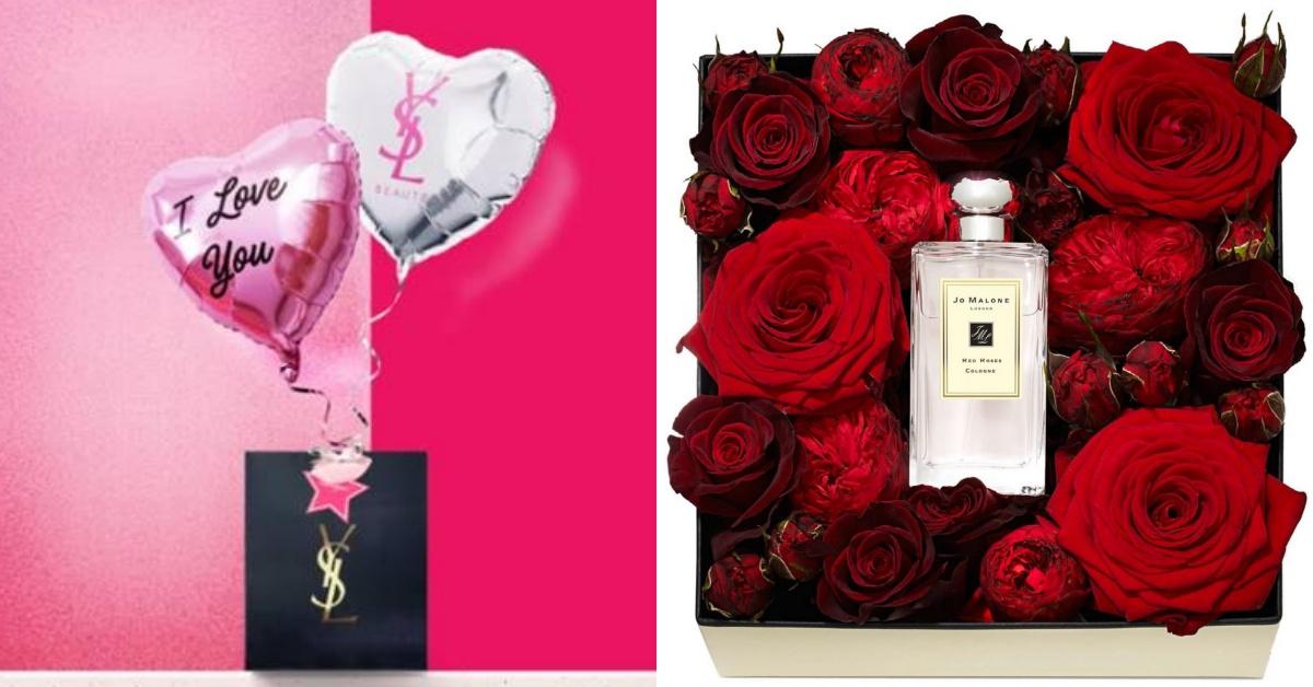 有爱心气球又有鲜花!YSL、JO MALONE「情人节限定组合」浪漫无设限