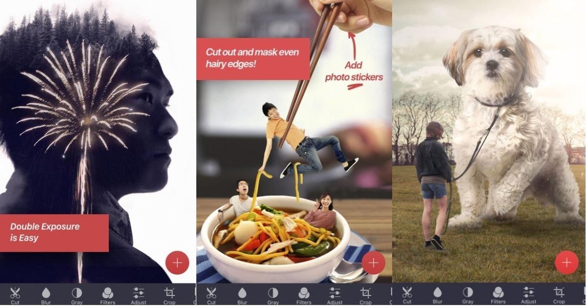 03/15限时免费App特辑:手机也能轻鬆製作有趣合成照!超强大修图App《Pixomatic》限免中