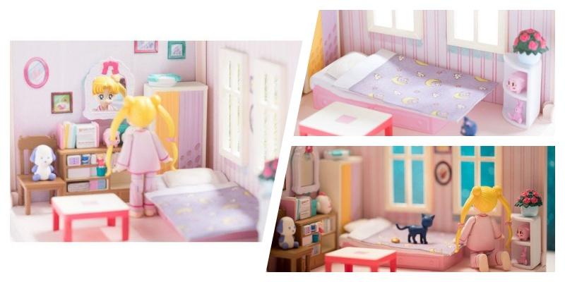 原来月野兔的房间长这样!「美少女战士娃娃屋」真实还原动漫场景