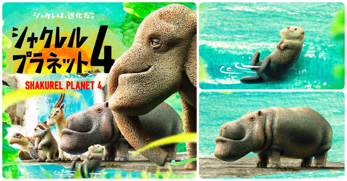 大象的鼻子怎么歪一边啦!戽斗星球第4弹「水边的动物」突袭登场