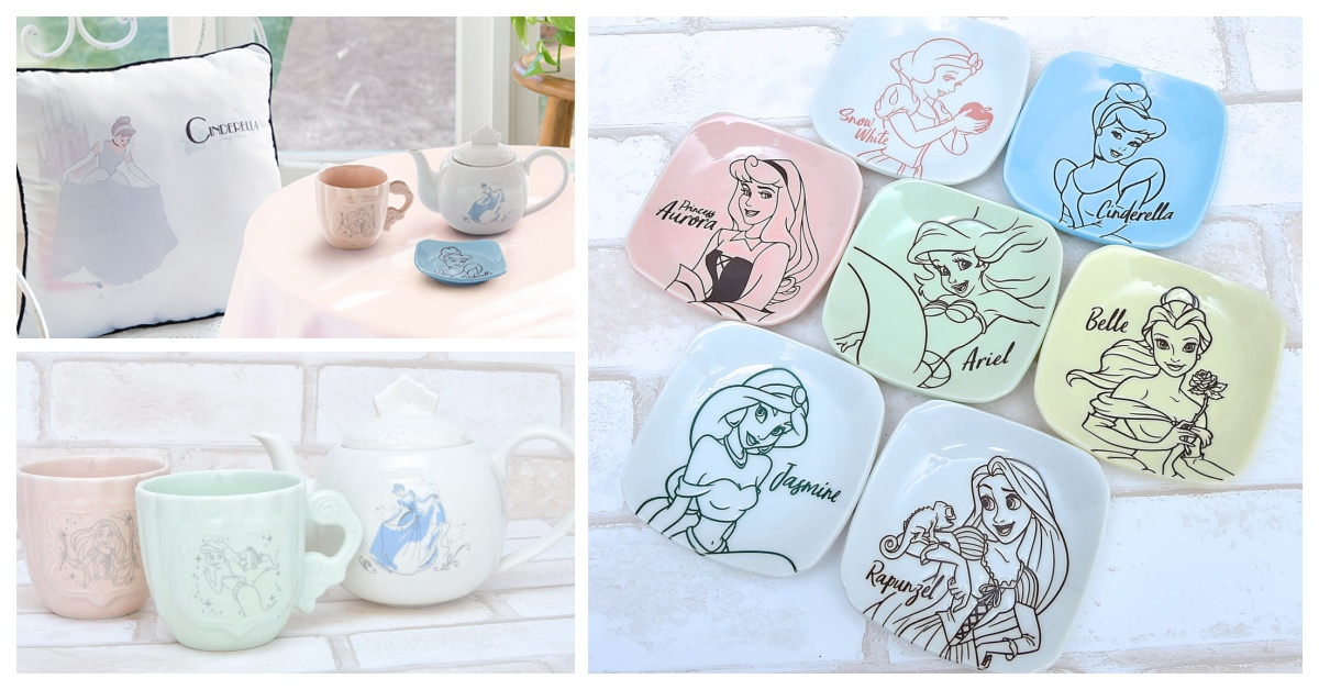 準备好跟仙度瑞拉一起喝下午茶了吗?「迪士尼公主一番赏」邀你参加午茶派对
