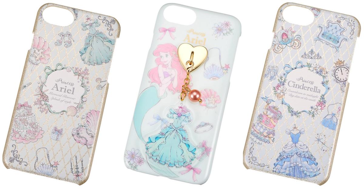 一窥迪士尼公主的华丽房间!气质感「公主元素手机壳」于Disney Store登场