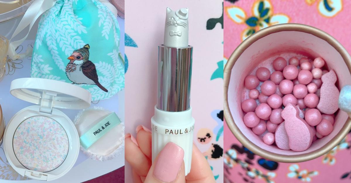 PAUL&JOE正式回归台湾!可爱度爆表的「粉红猫咪限量颊彩球、银色月光俏猫打亮膏」必收藏!