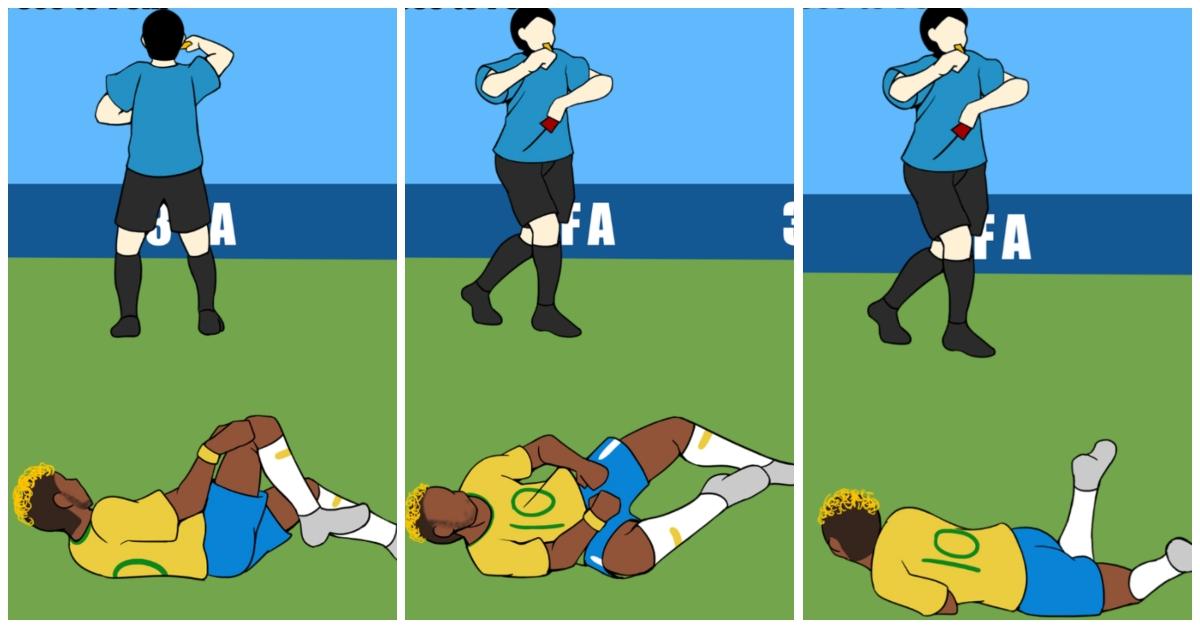内马尔滚进手游界!《Rolling Neymar》尽情滚动避免裁判亮红牌
