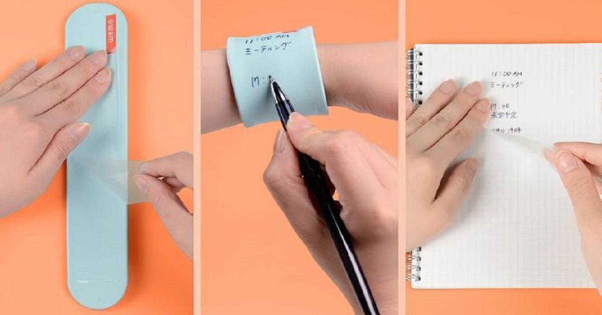 手机壳也能当笔记本!日本「超未来感便条纸」不只能写能擦竟还能转印
