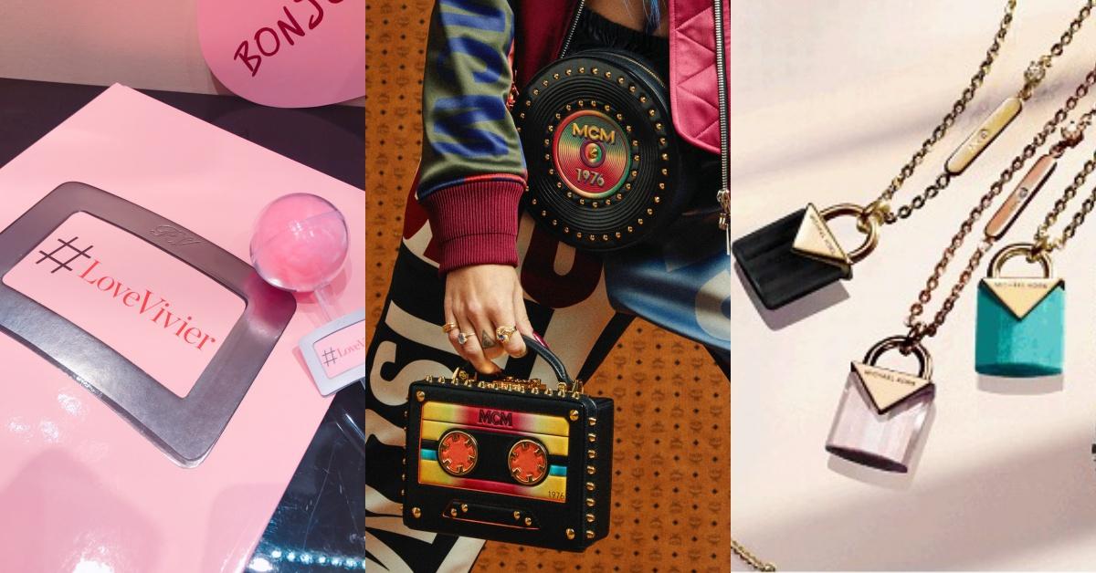 「MCM黑胶唱片包、 Roger Vivier时尚书、Folli Follie蝴蝶饰品」本週的时尚新消息立刻掌握 | 妞週报