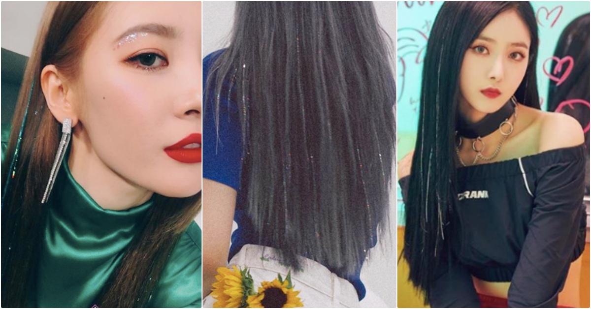 太妍、宣美…韩女神们最近都在疯「BLING BLING金属髮」,舞台上美貌更闪耀惹♡