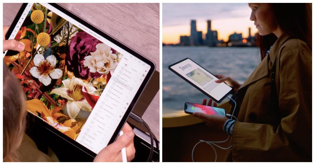 新iPad Pro掰了Home键、还可当行动电源?!苹果纽约发表会新品重点画给你