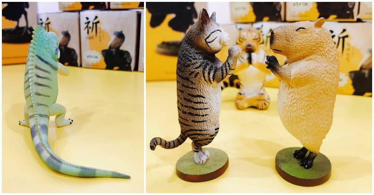 佛系生活才是王道!「Animal Life祈」系列盒玩为你招来好运气♡