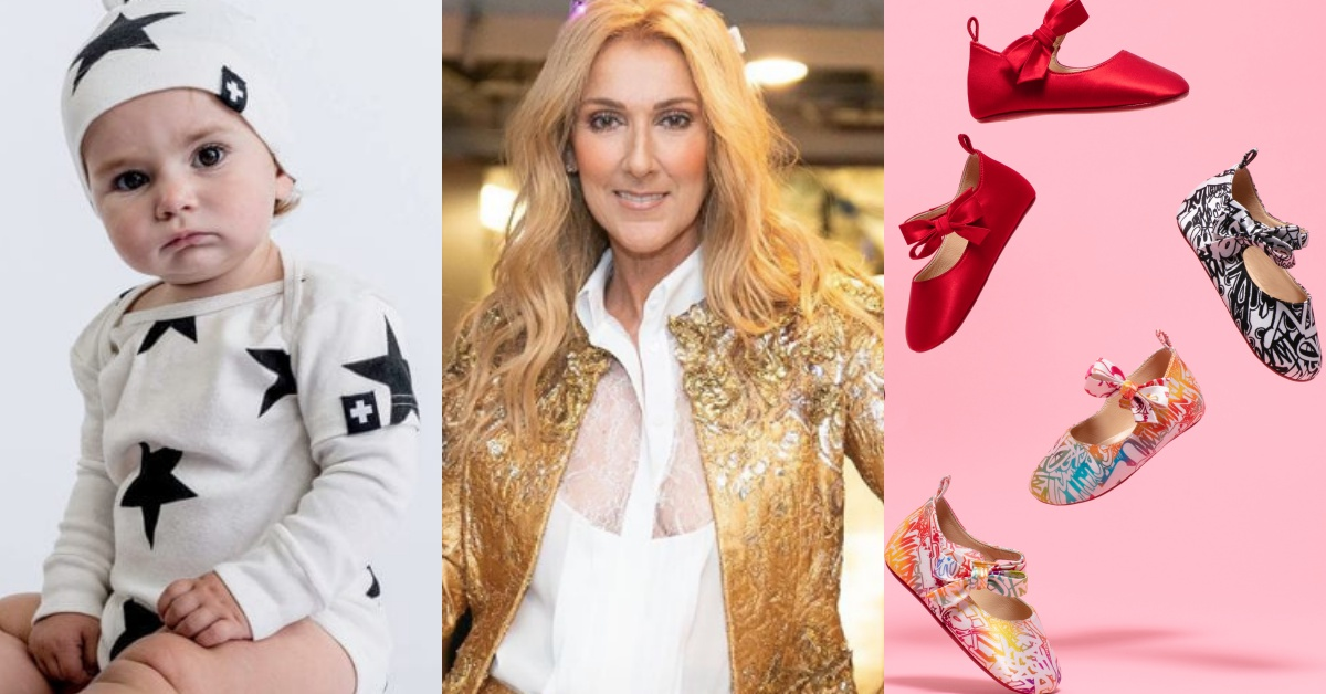 妈咪钱包失守!席琳狄翁联名童装品牌推出「CELINUNUNU」、红底鞋推限量婴儿鞋!