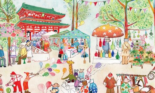 喜欢日本手作小物就来这里挖宝!京都5大市集大盘点