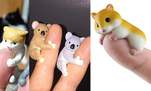 霸託请光临我的手指!超疗癒的「攀爬系」小动物扭蛋
