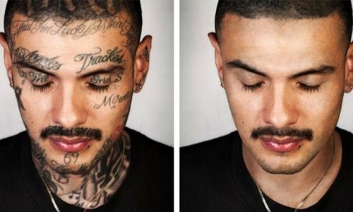 当刺青酿成重回社会的阻碍时...拍照师的补救之道《Skin Deep》