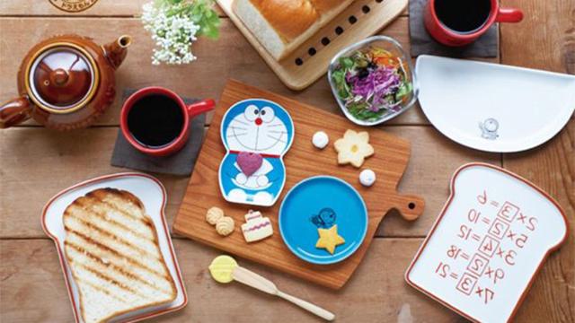 日本邮局连这都有在卖?!从四次元百宝袋掏出来的哆啦A梦萌餐具
