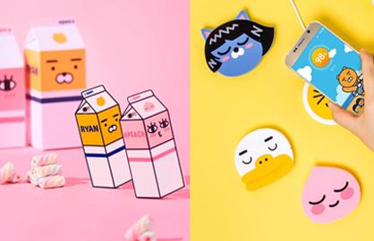 不让熊大兔兔独佔锋头!韩国超红的Kakao friends手机周边特辑