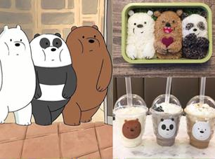 We Bare Bears我们就是熊啊!懒成一团的超可爱美国卡通《熊熊遇见你》