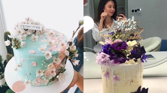 花和蛋糕梦幻合体了!一起来感受「鲜花蛋糕」稍纵即逝的美丽