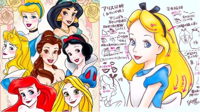 温蒂、爱丽丝也加入分析阵容!解析迪士尼角色特徵的强者fan art第二弹来惹