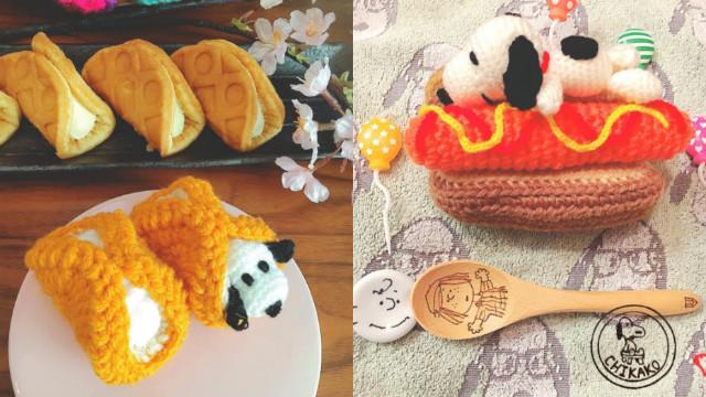 看起来超美味却不能吃!美味感的Snoopy针织系列让人食指大动