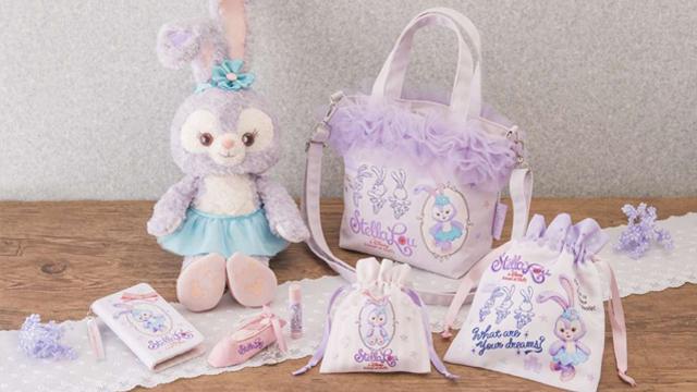 史黛拉兔的芭蕾舞鞋小收纳袋也太可爱!11项迪士尼海洋新品手刀预备