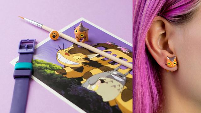 从耳环就能看出你的猫奴魂!可爱到炸裂的迷你猫咪耳环