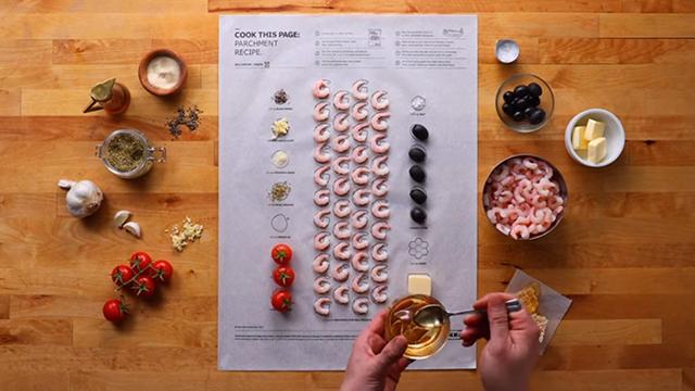 一张纸就能完成一道主菜!IKEA推出手残妞也能一次上手的超强食谱!