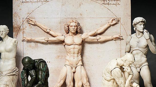 可以一手摆弄的大卫像!桌上美术馆系列让你变成生活艺术家