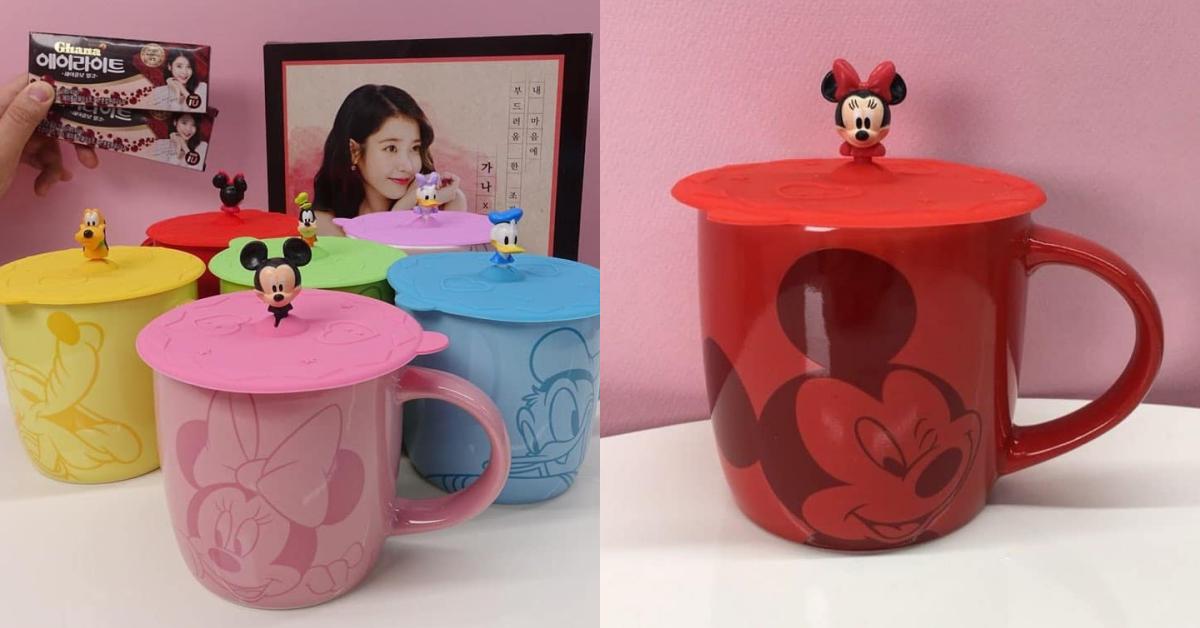 6款都想get!韩国7-11限量「迪士尼马克杯×公仔杯盖」
