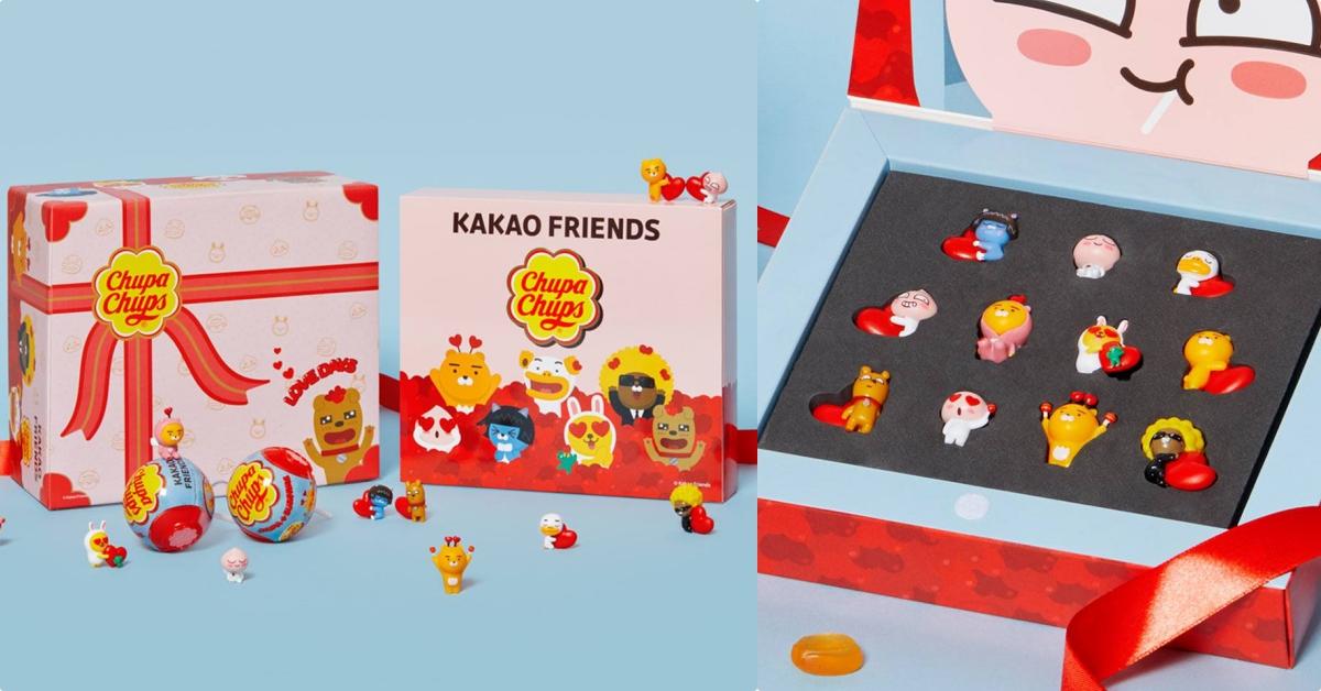 赶快暗示男友!「Kakao Friends×加倍佳白色情人节限定礼盒」甜蜜登场♡