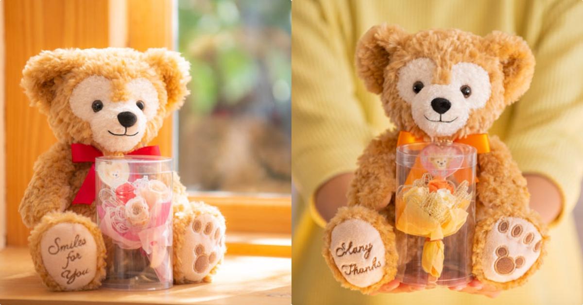 迪士尼梦幻逸品「达菲×永生花礼盒」让达菲替你传达满满的心意♡
