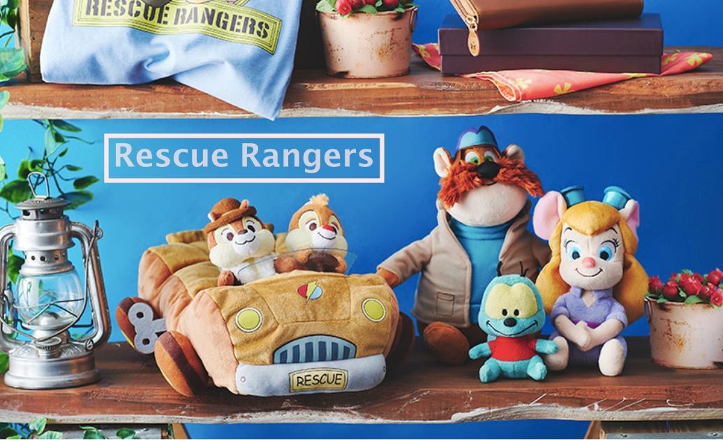 奇奇蒂蒂面纸盒超Q想收!日本迪士尼商店推出《救难小福星》系列周边