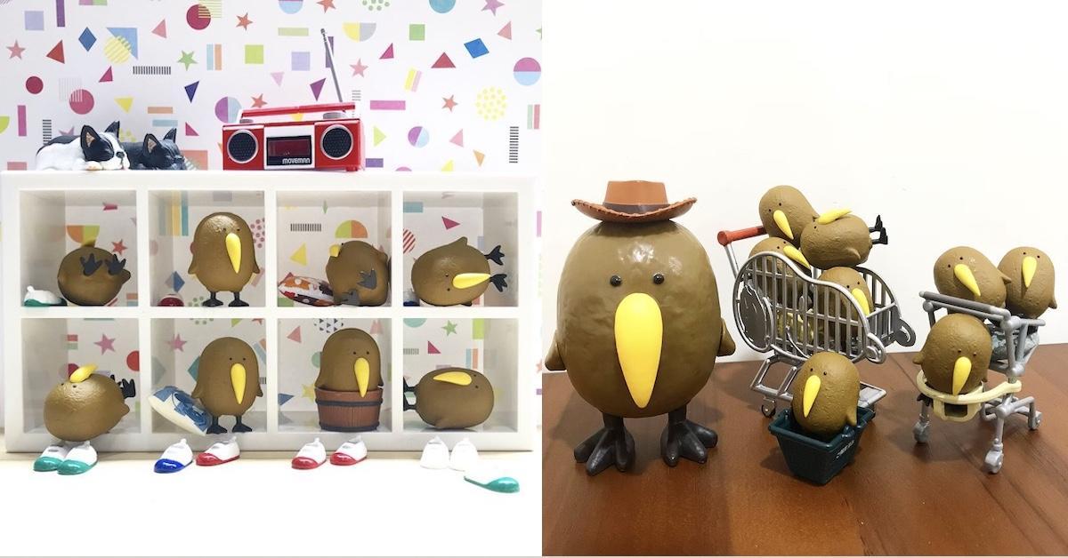 奇异果鸟全家大集合!太胖飞不动竟出现绑架危机?! | 打翻玩具箱