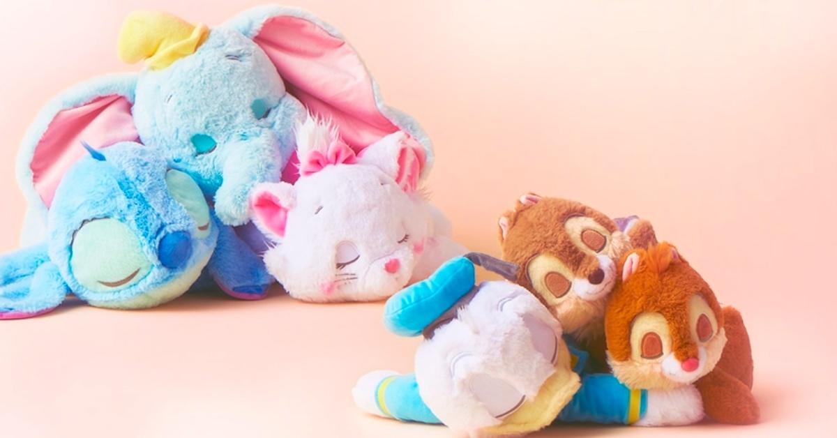 五月病侵入迪士尼?!「小飞象、唐老鸭」多款人气角色睡姿玩偶有够萌♡